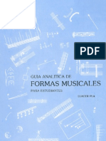 Guía Analítica de Formas Musicales para Estudiantes