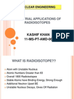 Kashif Radioisotopes Applications