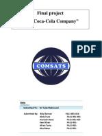 The coca cola company report