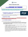 communiqué CCIfrance CPN 19 décembre 2012