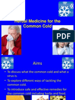 Herbal Medicine for the Common Cold