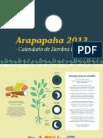 Arapapaha 2013 Calendario lunar de siembra