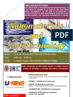 Nanomaterials & Nanotechnology Course Feb 2013