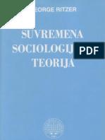 George Ritzer - Suvremena Sociologijska Terorija