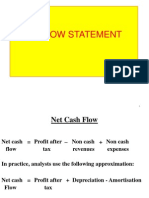 CashFlow Statement