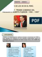 Decada de Los 90 en El Peru