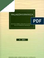 Palaeohispánica 1