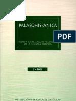 Palaeohispánica 7