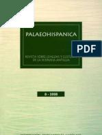Palaeohispánica 8