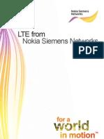 LTE from Nokia Siemens Network