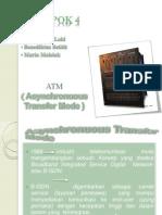 Presentasi ATM Komunikasi data