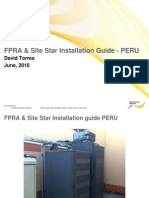 FPRA & Site Star Installation Guide - Nokia