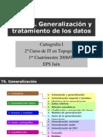 Tema 6. Generalizacion.