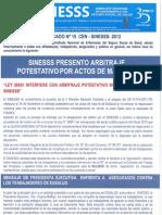 Comunicado Nº 15 CEN - SINESSS - 2012