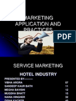 service marketing in hotel industry