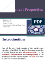 Mechanical Properties of Nano Materials