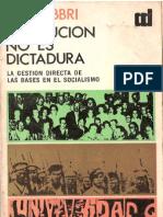 Fabbri, Fabbri - Revolución no es dictadura