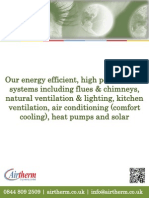 Airtherm's Products & Services Brochure