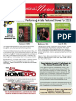 January 2013 - SCF Newsletter