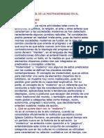 una genealogia de la postmodernidad en el contexto latinoamericano