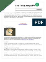 Provident Living Dec12 Newsletter (1)