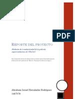 Reporte Del Proyecto