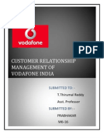 CRM on vodafone