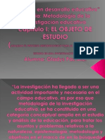 EL OBJETO DE ESTUDIO