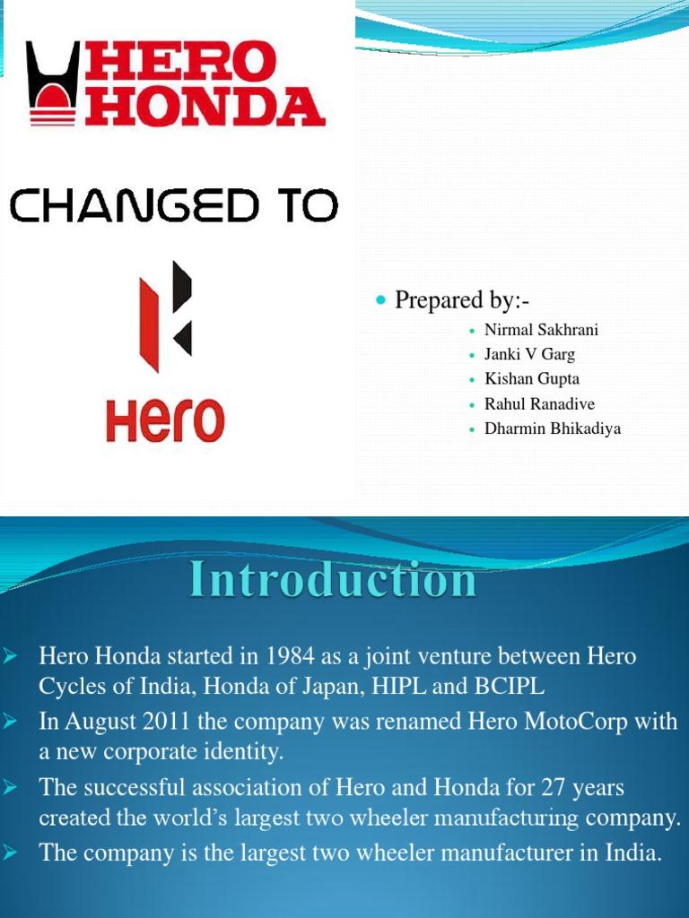 honda company history in brief