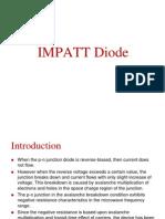 Impatt Diode