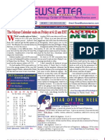 Astroamerica Newsletter Dated December 18, 2012