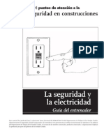 4 Electrical Safety Trainer Guide Spanish
