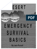 Desert Emergency Survival Basics