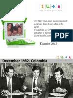 xmas card OLPC 2012