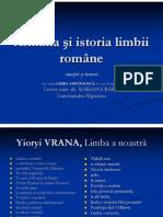 Armana şi istoria limbii romane.