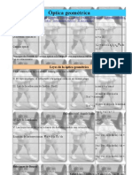 Formulas Optica Geometrica (by Carrascal)