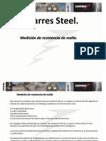 Medición de resistencia de malla - Parres Steel