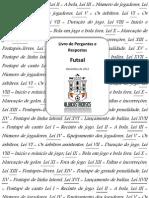 Livro do Núcleo de Árbitros de Futebol Albicastrenses de Perguntas e Respostas de Futsal - 1ª Edição (Excerto do Exemplar)