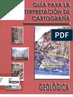 GUIA PARA LA INTERPRETACIÓN CARTOGRÁFICA GEOLÓGICA