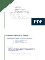 1ª profesora-Tema 1 Estructura Atómica 10-11