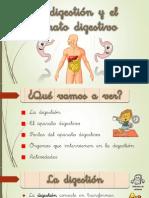 1. La digestión y el aparato digestivo