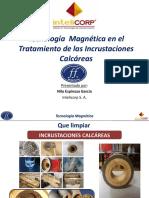 Tecnología Magnética en el tratamiento de las incrustaciones Calcareas