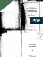 EL000122 Mantovani 1937 La enseñanza técnica