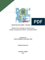 """PROYECTO DE AULA C.E. IMBAPI """"COMPRENSION DE LECTURA E IDENTIFICACION DE LA IDEA CENTRAL DE UN TEXTO"""""""