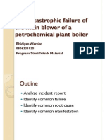 Presentation - Failure of a Blower Fan at a Petrochemical.