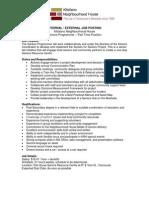 KNH Seniors Programmer - Internal-External JP 2012