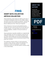 Articles on Cloud Computing and Analytics_Paul Barsch