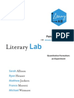 Literary Lab Pamphlet 1