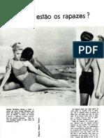Onde estão os rapazes - Artigo - Revista Sedução Jun1961