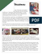 Merry Christmas Letter 2012